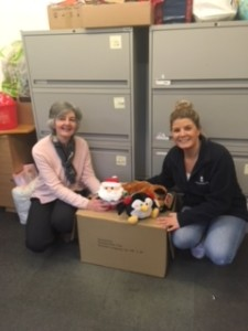 Wellington Country Park Donation of cuddly toys 20.12.18